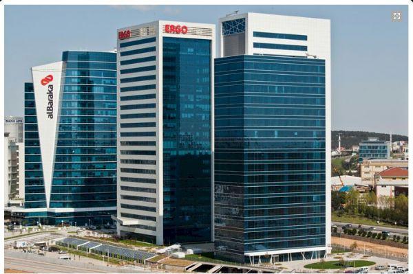 Akkom Ofis Park 90 bin metrekare inşaat alanına sahip-1