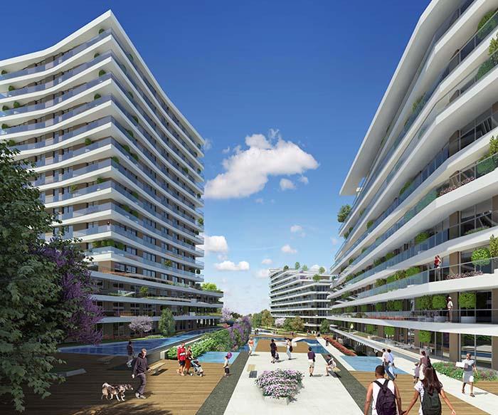 Dumankaya Modern Vadi 1.498 adet daireden oluşuyor-6