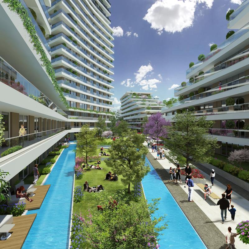 Dumankaya Modern Vadi 1.498 adet daireden oluşuyor-20