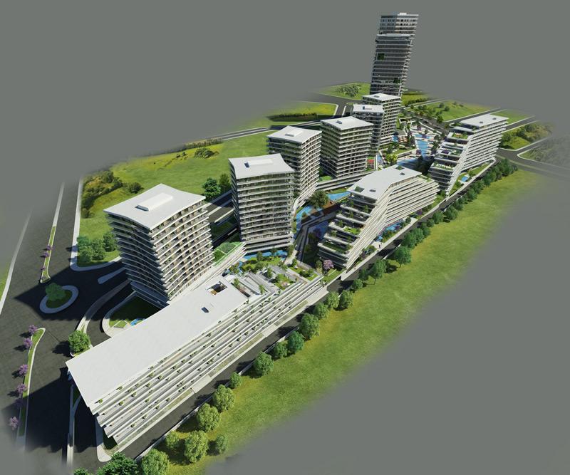 Dumankaya Modern Vadi 1.498 adet daireden oluşuyor-9