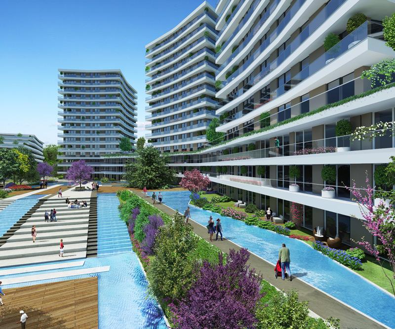 Dumankaya Modern Vadi 1.498 adet daireden oluşuyor-17