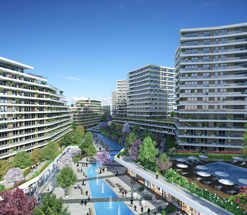 Dumankaya Modern Vadi 1.498 adet daireden oluşuyor-11