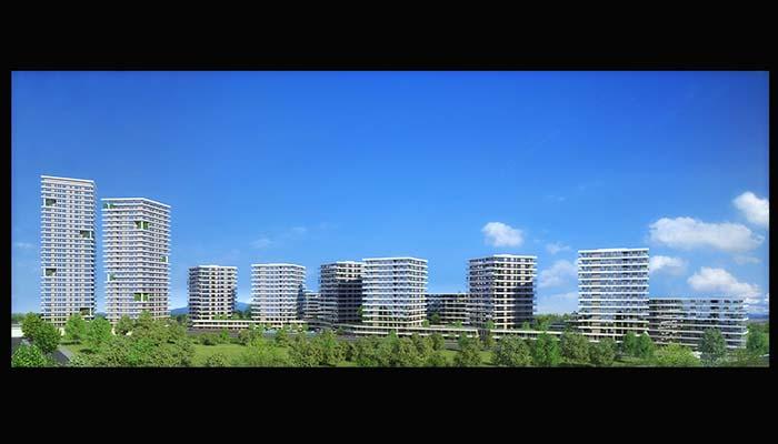 Dumankaya Modern Vadi 1.498 adet daireden oluşuyor-8