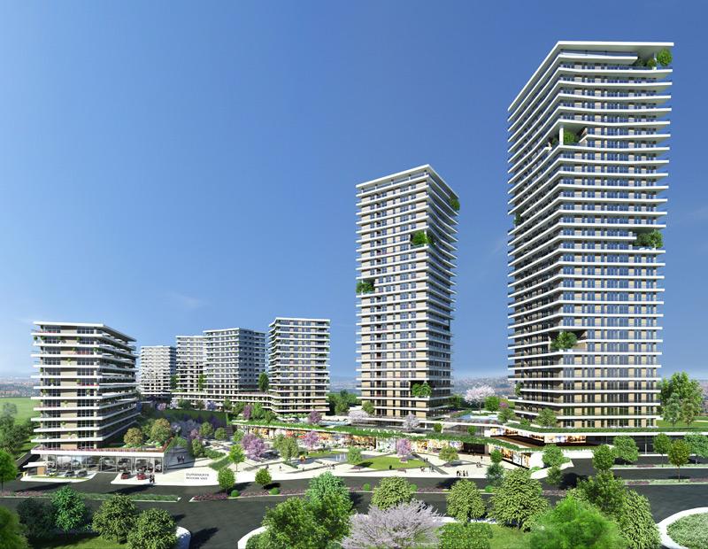 Dumankaya Modern Vadi 1.498 adet daireden oluşuyor-13