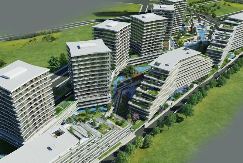Dumankaya Modern Vadi 1.498 adet daireden oluşuyor-12