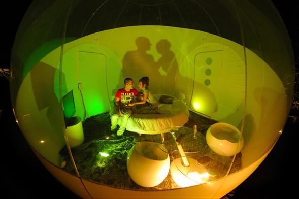 Tatil için 'Balon odalar'-2