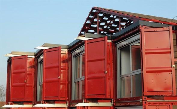 Amerika'lı mimarlar Liman konteynerdan ev yaptı-8
