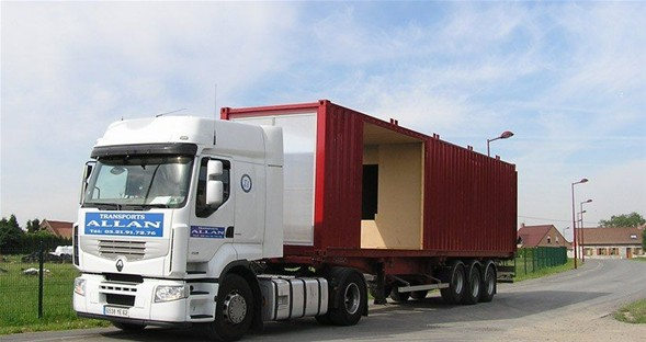 Amerika'lı mimarlar Liman konteynerdan ev yaptı-1