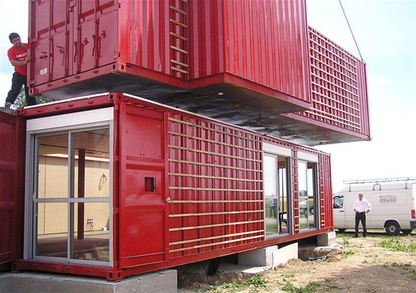 Amerika'lı mimarlar Liman konteynerdan ev yaptı-3