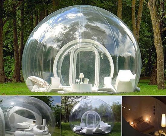 Tatil için 'Balon odalar'-5