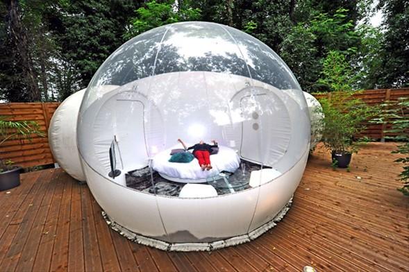 Tatil için 'Balon odalar'-1