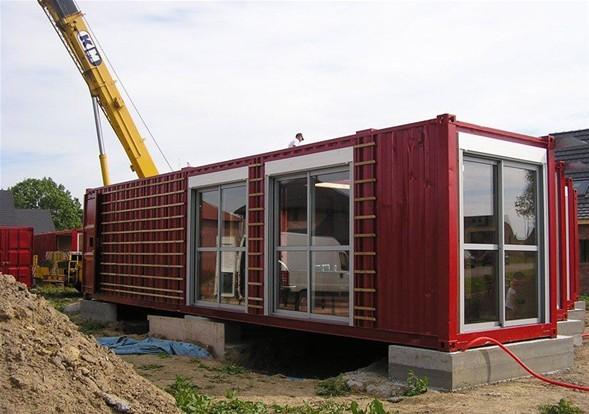 Amerika'lı mimarlar Liman konteynerdan ev yaptı-4