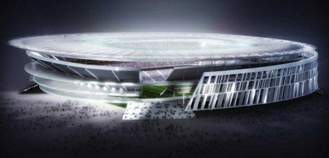 Roma futbol klubü yeni stadyumunu tanıttı-3