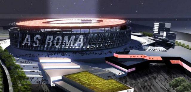 Roma futbol klubü yeni stadyumunu tanıttı-2