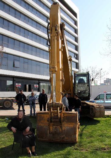 Edirne'de imara açılan parka halk dur dedi-2