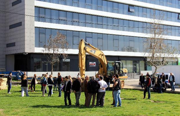 Edirne'de imara açılan parka halk dur dedi-6