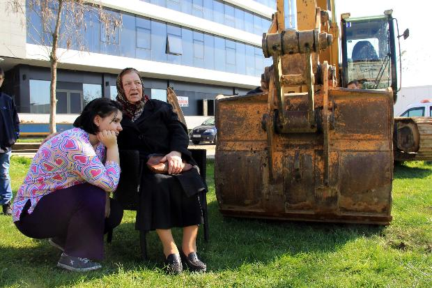 Edirne'de imara açılan parka halk dur dedi-1