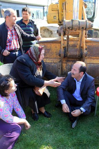 Edirne'de imara açılan parka halk dur dedi-7