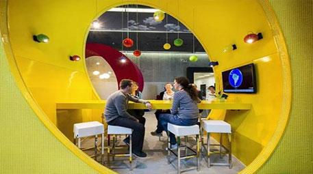 Google'ın çılgın ve renkli ofisleri şaşırtıyor!-3