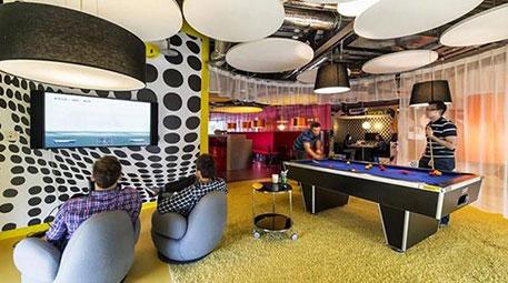Google'ın çılgın ve renkli ofisleri şaşırtıyor!-1