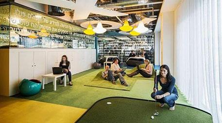 Google'ın çılgın ve renkli ofisleri şaşırtıyor!-2