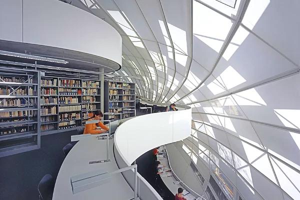 Farklı mimari konsepte sahip kütüphaneler-8