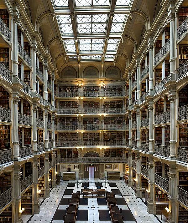 Farklı mimari konsepte sahip kütüphaneler-6