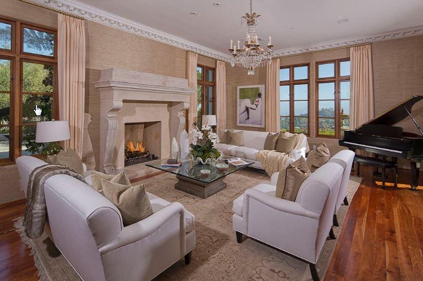 Heidi Klum'un satılık evi-10