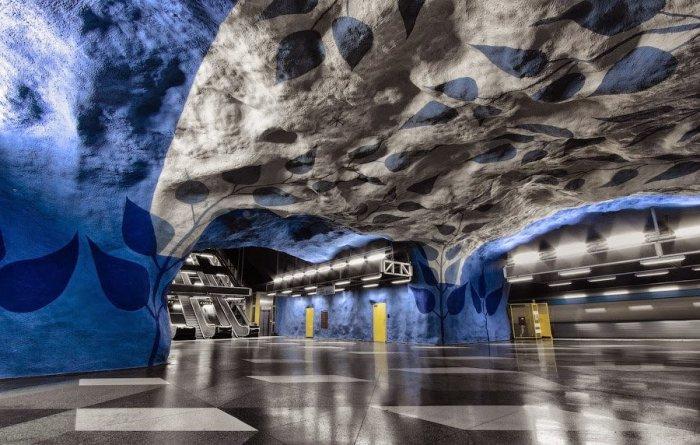 Dünyanın en güzel metro istasyonları-8