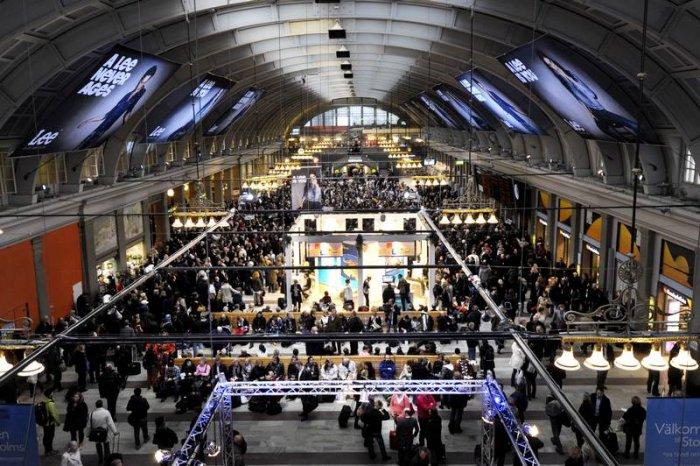 Dünyanın en güzel metro istasyonları-11