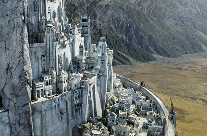 Yüzüklerin Efendisi'nin Kale Kenti inşa ediliyor!-5