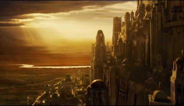 Yüzüklerin Efendisi'nin Kale Kenti inşa ediliyor!-2