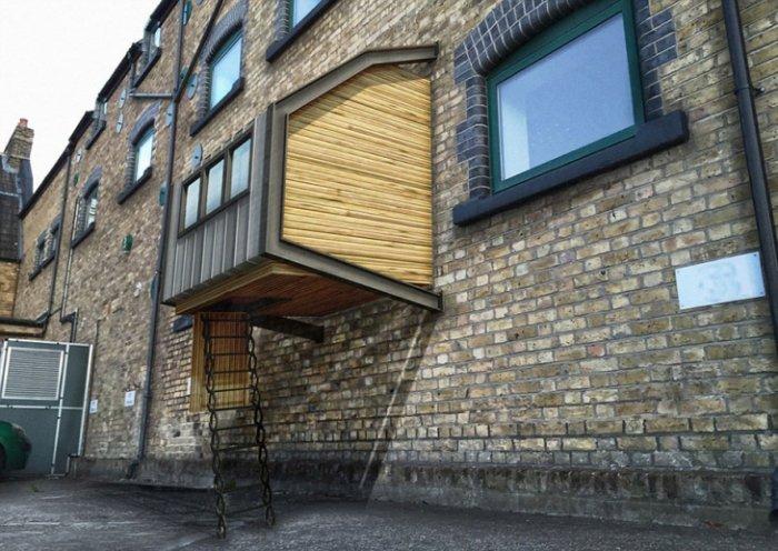 Londra'da Evsizler İçin Yapılan Barınaklar-2