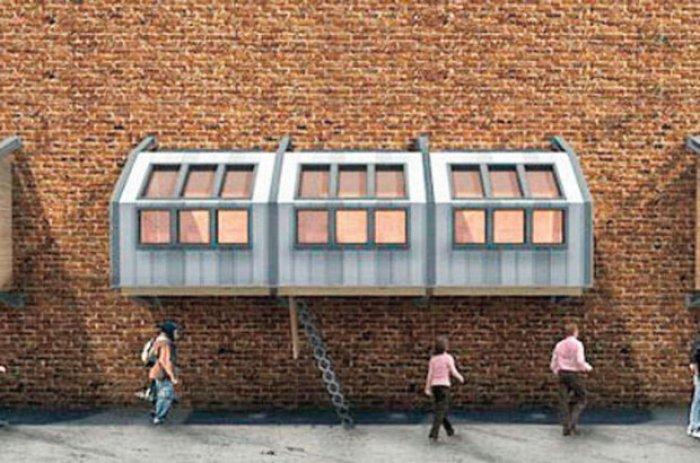 Londra'da Evsizler İçin Yapılan Barınaklar-4