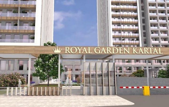 Royal Garden Kartal Projesi Görselleri-8