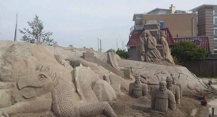 Hollanda'nın ilk kumdan oteli-12