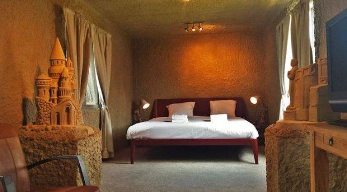 Hollanda'nın ilk kumdan oteli-14