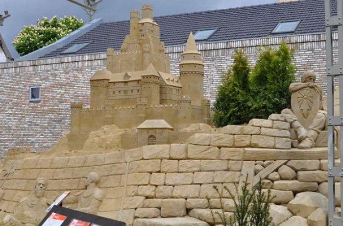 Hollanda'nın ilk kumdan oteli-8