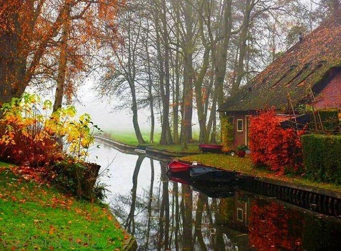 Hollanda'nın Rüya Kasabası: Giethoorn-1