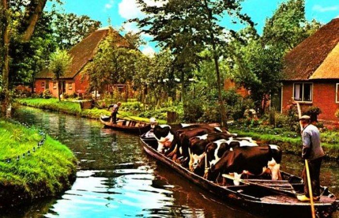 Hollanda'nın Rüya Kasabası: Giethoorn-12