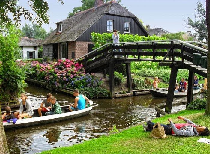 Hollanda'nın Rüya Kasabası: Giethoorn-6