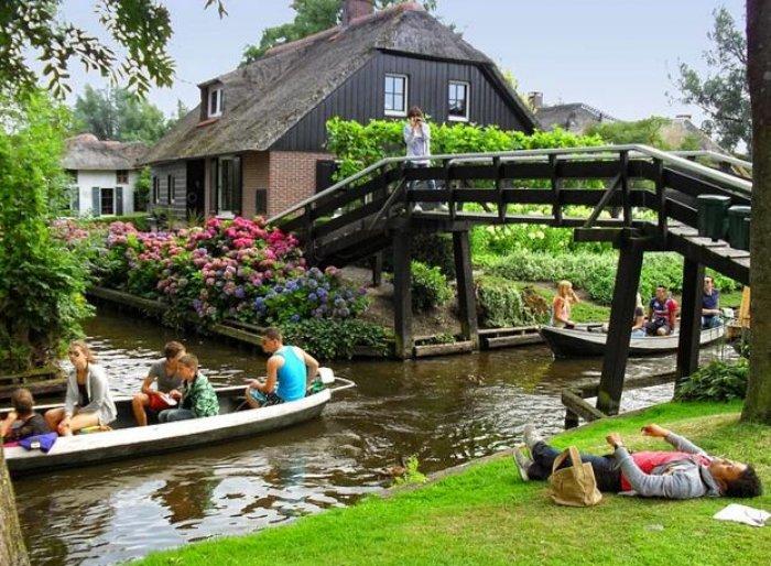 Hollanda'nın Rüya Kasabası: Giethoorn-10