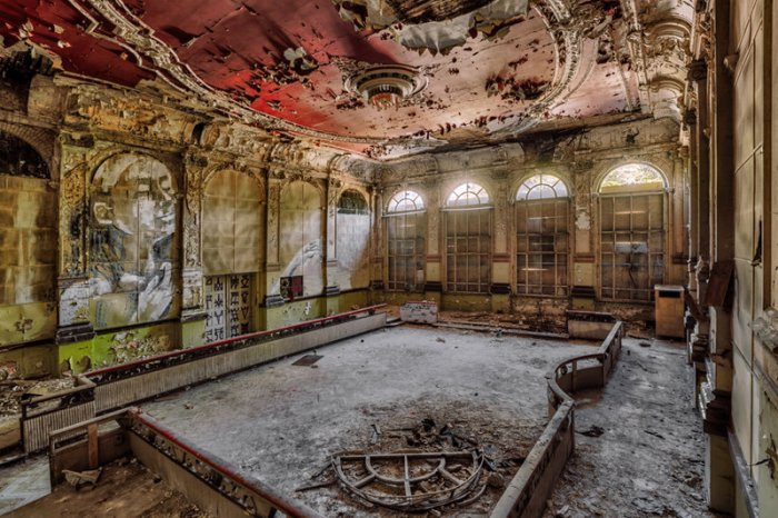 Terk edilmiş binaların sırrı: Christian Richter!-2