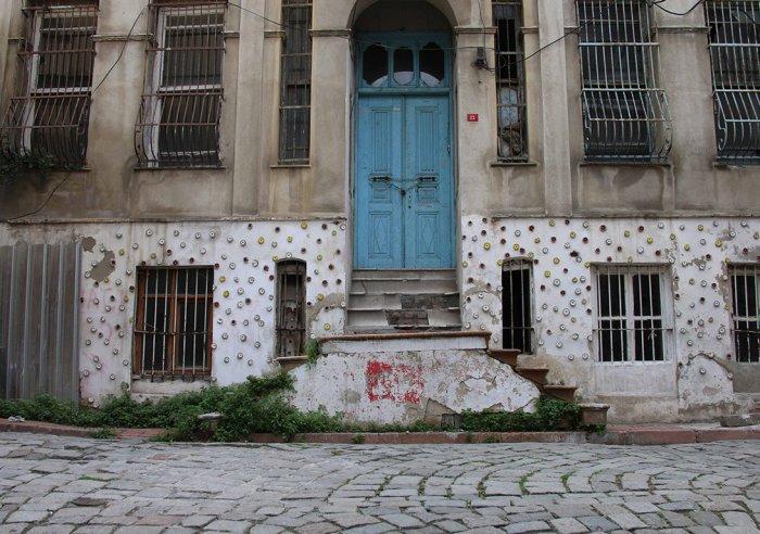 Balat'ta duvarlara çiçek açıyor!-1