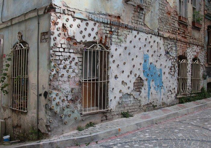 Balat'ta duvarlara çiçek açıyor!-6