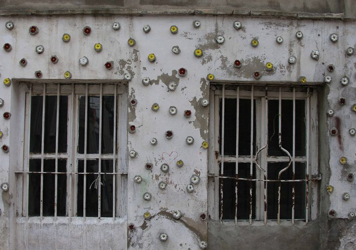 Balat'ta duvarlara çiçek açıyor!-7
