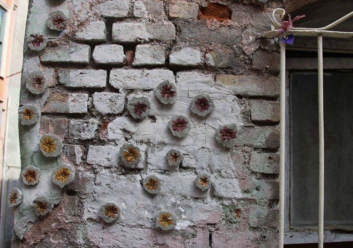Balat'ta duvarlara çiçek açıyor!-8