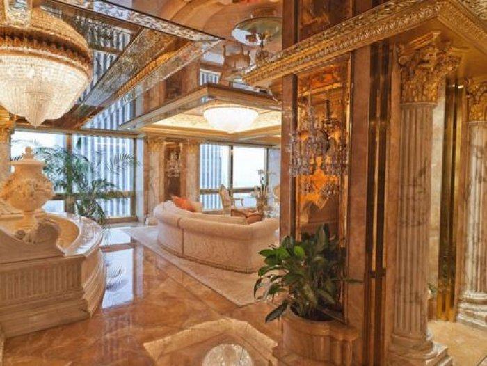 Altından Bir Ev: Donald Trump Evi!-1