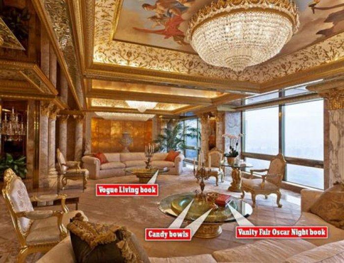 Altından Bir Ev: Donald Trump Evi!-3