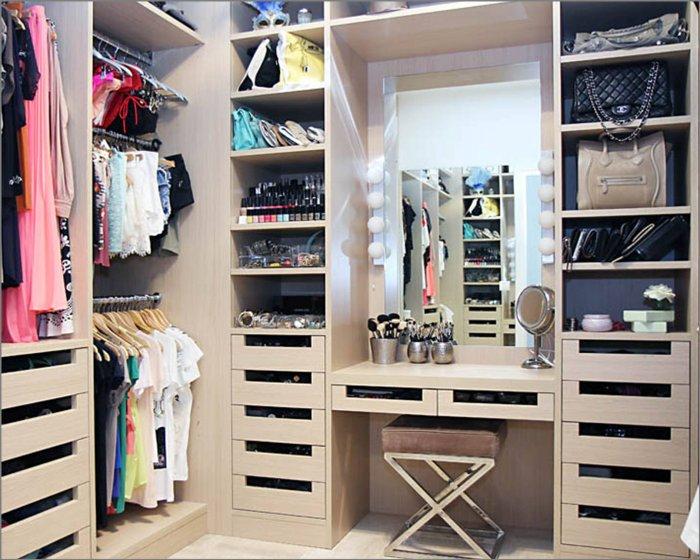 Birbirinden Farklı Giyinme Odası Tasarımları-1